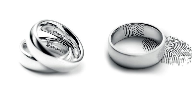 Grabado de anillos